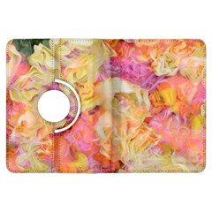 Soft Floral,roses Kindle Fire Hdx Flip 360 Case by MoreColorsinLife