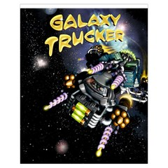 Galaxy Trucker By Thomas Covert   Drawstring Pouch (xl)   Tq34f7mf3ujj   Www Artscow Com Front