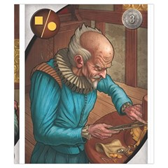 Shakespeare V2 By Thomas Covert   Drawstring Pouch (small)   Tdrrt93or15r   Www Artscow Com Back