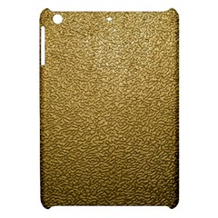 Gold Plastic Apple Ipad Mini Hardshell Case by trendistuff