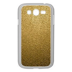 GOLD PLASTIC Samsung Galaxy Grand DUOS I9082 Case (White) by trendistuff