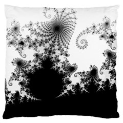 Fractal Large Cushion Cases (two Sides)  by trendistuff