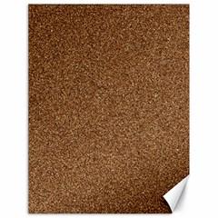 Dark Brown Sand Texture Canvas 18  X 24   by trendistuff