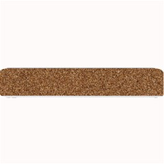 Dark Brown Sand Texture Small Bar Mats by trendistuff