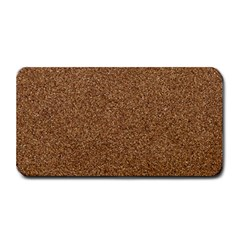 DARK BROWN SAND TEXTURE Medium Bar Mats by trendistuff
