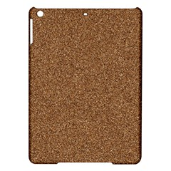 Dark Brown Sand Texture Ipad Air Hardshell Cases by trendistuff