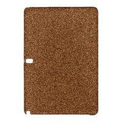 Dark Brown Sand Texture Samsung Galaxy Tab Pro 12 2 Hardshell Case by trendistuff