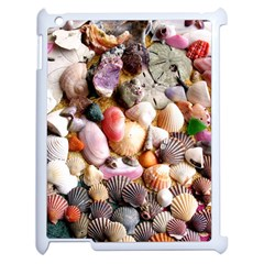 Colorful Sea Shells Apple Ipad 2 Case (white) by trendistuff