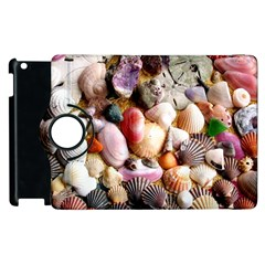 Colorful Sea Shells Apple Ipad 3/4 Flip 360 Case by trendistuff