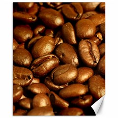 Chocolate Coffee Beans Canvas 11  X 14   by trendistuff