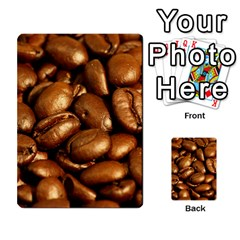 Chocolate Coffee Beans Multi Purpose Cards (rectangle)