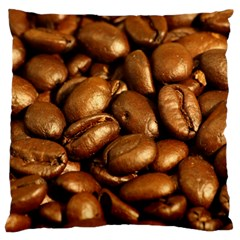 Chocolate Coffee Beans Large Flano Cushion Cases (two Sides)  by trendistuff