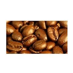 Chocolate Coffee Beans Satin Wrap by trendistuff