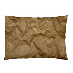 BROWN PAPER Pillow Cases by trendistuff