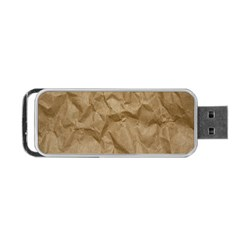 Brown Paper Portable Usb Flash (one Side) by trendistuff