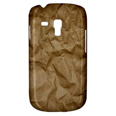 Brown Paper Samsung Galaxy S3 Mini I8190 Hardshell Case by trendistuff