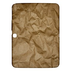 BROWN PAPER Samsung Galaxy Tab 3 (10.1 ) P5200 Hardshell Case  by trendistuff