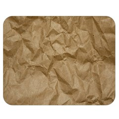 BROWN PAPER Double Sided Flano Blanket (Medium)  by trendistuff