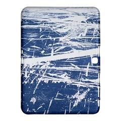 Blue And White Art Samsung Galaxy Tab 4 (10 1 ) Hardshell Case  by trendistuff