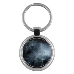 Black Splatter Key Chains (round)  by trendistuff