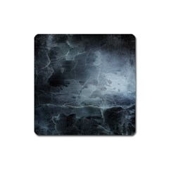 Black Splatter Square Magnet by trendistuff
