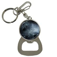 Black Splatter Bottle Opener Key Chains by trendistuff
