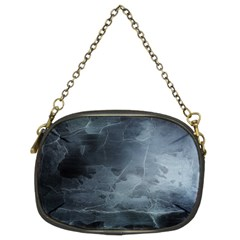 Black Splatter Chain Purses (two Sides)  by trendistuff