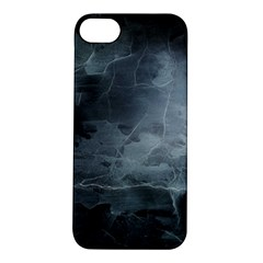 Black Splatter Apple Iphone 5s Hardshell Case by trendistuff