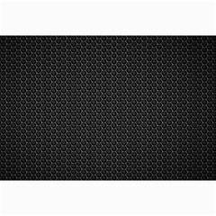 Black Honeycomb Collage 12  X 18  by trendistuff