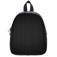 Black Honeycomb School Bags (small)  by trendistuff