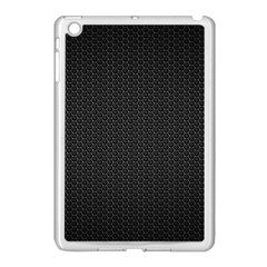 Black Honeycomb Apple Ipad Mini Case (white) by trendistuff
