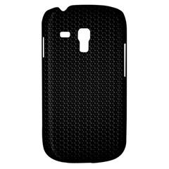 Black Honeycomb Samsung Galaxy S3 Mini I8190 Hardshell Case by trendistuff
