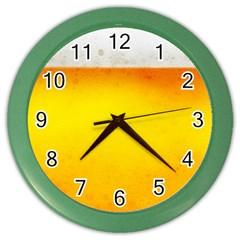 BEER Color Wall Clocks by trendistuff