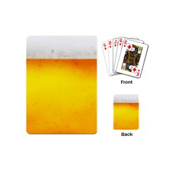 Beer Playing Cards (mini)  by trendistuff