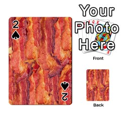 Bacon Playing Cards 54 Designs