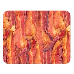 Bacon Double Sided Flano Blanket (large)  by trendistuff