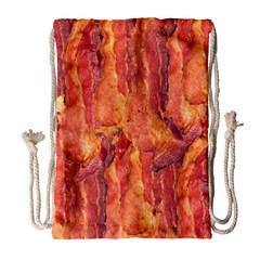 Bacon Drawstring Bag (large) by trendistuff
