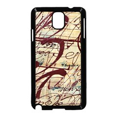 Abstract 2 Samsung Galaxy Note 3 Neo Hardshell Case (black) by trendistuff