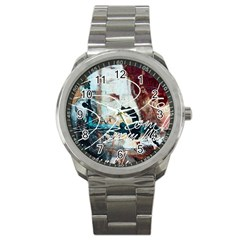 Abstract 1 Sport Metal Watches by trendistuff