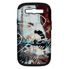 Abstract 1 Samsung Galaxy S Iii Hardshell Case (pc+silicone) by trendistuff