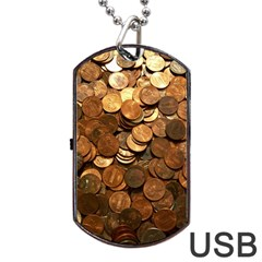 US COINS Dog Tag USB Flash (Two Sides)  by trendistuff
