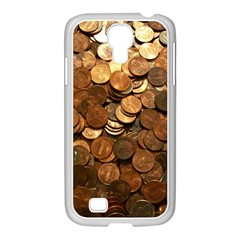 US COINS Samsung GALAXY S4 I9500/ I9505 Case (White) by trendistuff