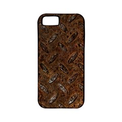 Rusty Metal Pattern Apple Iphone 5 Classic Hardshell Case (pc+silicone) by trendistuff
