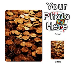 Pennies Multi Purpose Cards (rectangle)