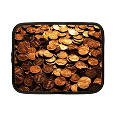 PENNIES Netbook Case (Small)  by trendistuff