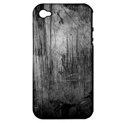 Grunge Metal Night Apple Iphone 4/4s Hardshell Case (pc+silicone) by trendistuff