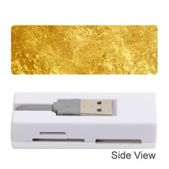 Gold Memory Card Reader (stick)  by trendistuff