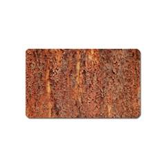 Flaky Rusting Metal Magnet (name Card) by trendistuff