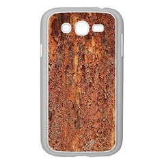 FLAKY RUSTING METAL Samsung Galaxy Grand DUOS I9082 Case (White) by trendistuff