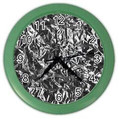 ALUMINUM FOIL Color Wall Clocks by trendistuff